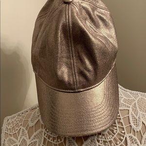 Jcrew Silver Hat